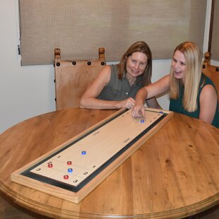 Shuffleboard and Curling 2 in 1 Board Game By GoSports