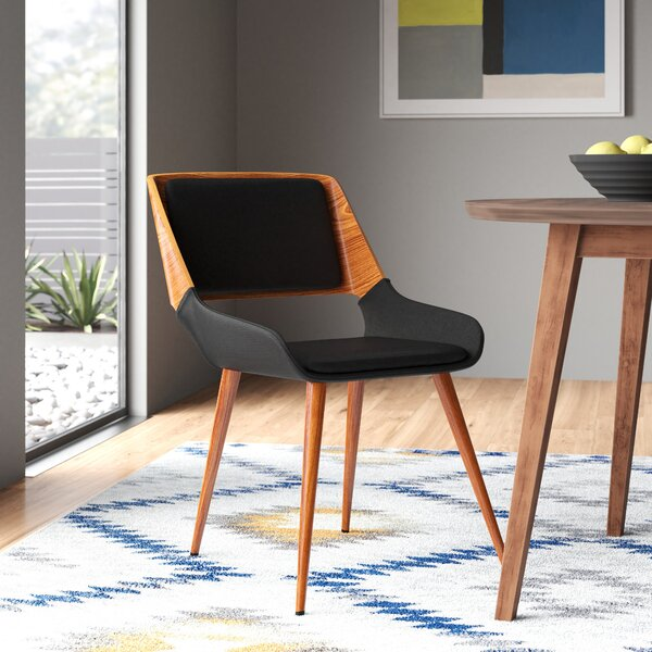 Strange Shoptagr Thelonius Upholstered Dining Chair By Allmodern Caraccident5 Cool Chair Designs And Ideas Caraccident5Info
