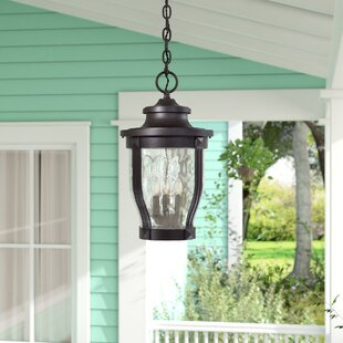 Porterfield 3-Light Outdoor Hanging Lantern