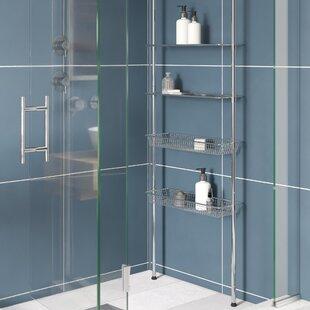 Ozzie 71cm X 285cm Bathroom Shelf By Symple Stuff