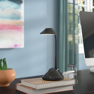 Read Reviews Jaworski 36 LED Dual Powered Desk Lamp By Symple Stuff