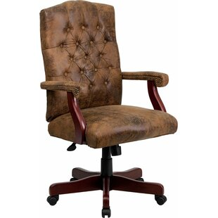 Deals Hickox Classic Executive Chair by Darby Home Co Reviews (2019) & Buyer's Guide