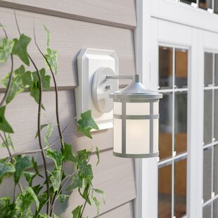 Adonide 1-Light Outdoor Wall Lantern By Loon Peak Outdoor Lighting