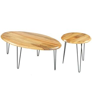 Union Rustic Pack 2 Piece Coffee Table Set