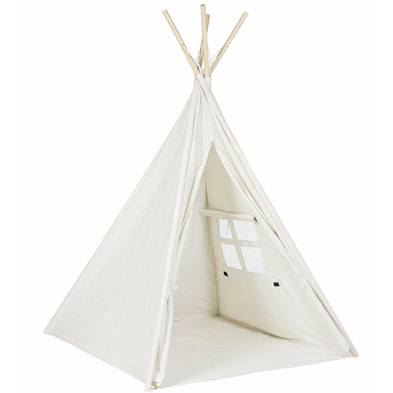 Children Indoor/Outdoor Cotton & Canvas Triangular Play Tent