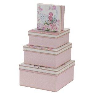 Cute Kitten Cardboard Piece Box Set By Fleur De Lis Living