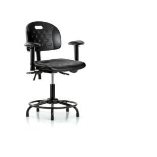Symple Stuff Jade Round Tube Base Ergonomic Office Chair