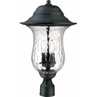 Aurora Outdoor 3-Light Lantern Head by Volume Lighting