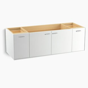 Jute? 60 Vanity with 2 Doors and 2 Drawers, Split Top Drawer by Kohler