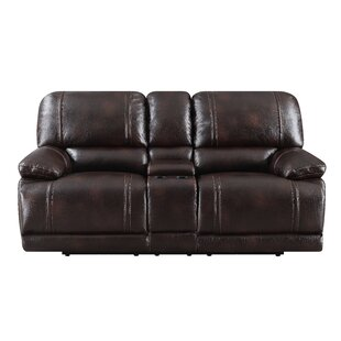 Shop Leyla Reclining Loveseat by Winston Porter