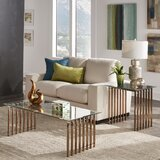Mervin 2 Piece Coffee Table Set by Everly Quinn
