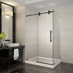 Langham 48 X 77 5 Rectangle Sliding Shower Enclosure With Base Included