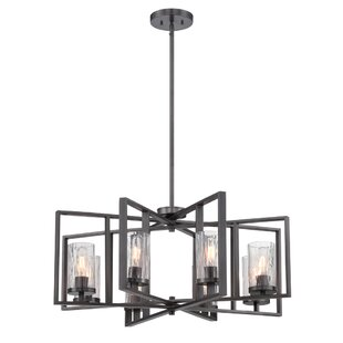 Union Rustic Kuhle 8-Light Geo..