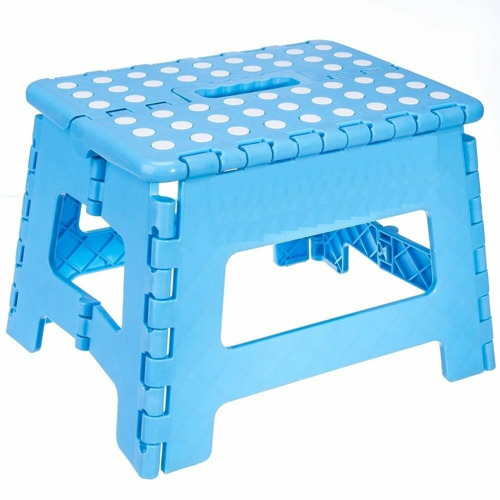 Imperial Home Heavy Duty Folding Step Stool with Gripping Surface ...