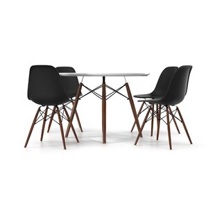 Mattison 5 Piece Dining Set Wrought Studio