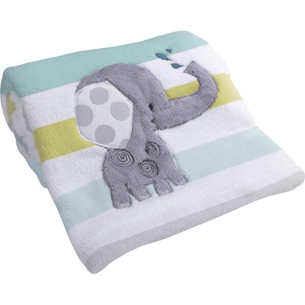 Yoo-Hoo Elephant Baby Blanket