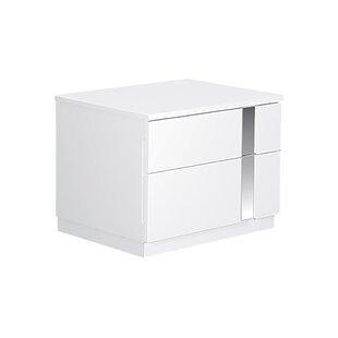 Global Furniture USA Jody 2 Drawer Nightstand