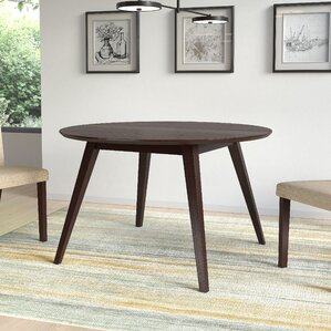 Gusman Round Stained Dining Table by Bray..