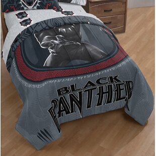 Panther Wakanda Single Reversible Comforter
