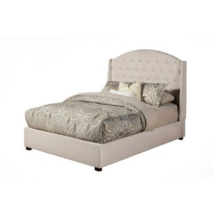 Germann Poplar Wood Upholstered Panel Bed