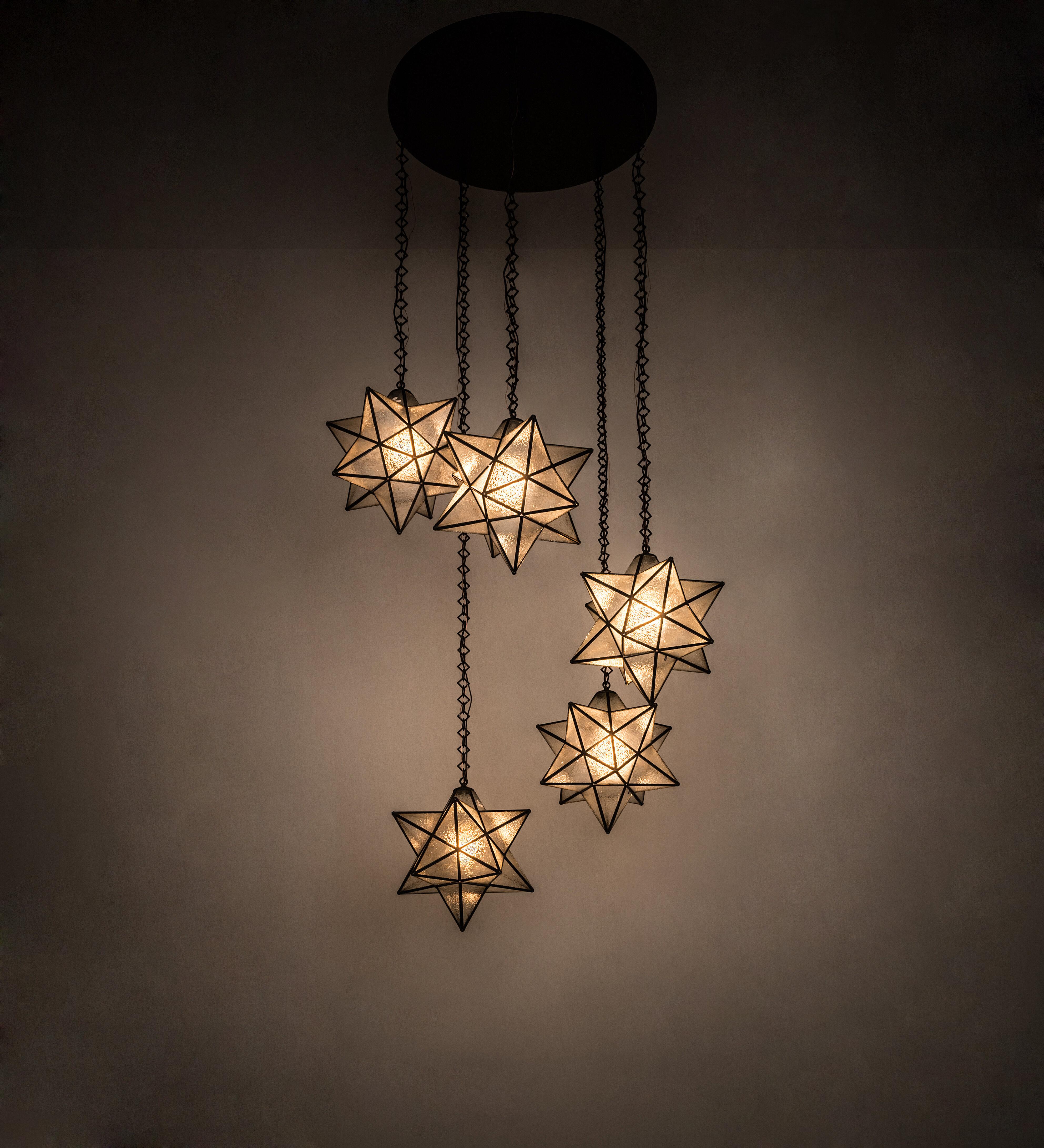 Meyda Tiffany Moravian 5 Light Cer