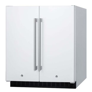 Summit 29.5-inch 5.4 cu.ft. Convertible Undercounter Refrigerator with Freezer