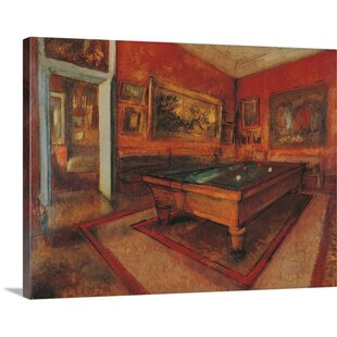'Billiard Room, ca.1892. Musee d'Orsay, Paris, France' by Edgar Degas Painting Print by Great Big Canvas