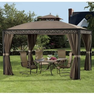 Replacement Canopy for 10' W x 12' D Fabric Gazebo by Sunjoy