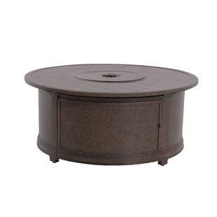 Royal Garden Biscarta Aluminum Gas Fire Pit Table