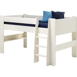 Marlowe Rivers European Single Mid Sleeper Bed By Harriet Bee