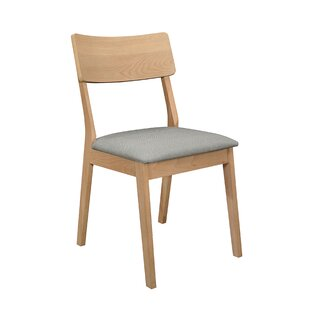 Wrought Studio Hornick Upholstered Dining Chair (Set of 2)