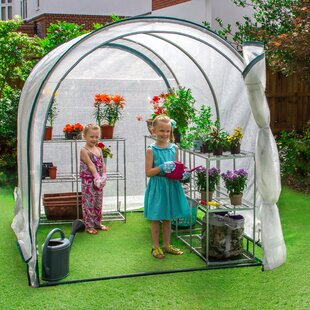 6 Ft W X 8 Ft D Lean-to Greenhouse By JumpKing