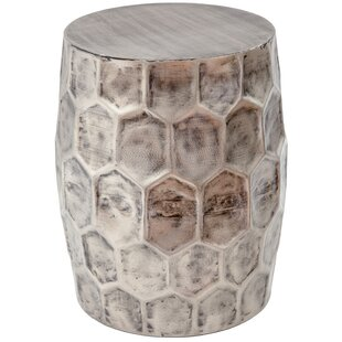 Bloomsbury Market Ohalloran Honeycomb Accent Stool