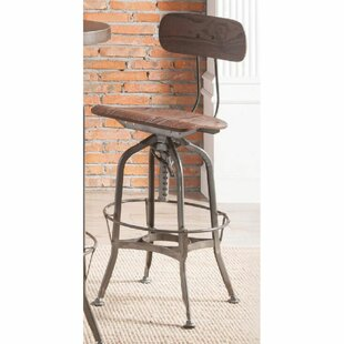 Monzon Swivel Adjustable Height Stool by Williston Forge