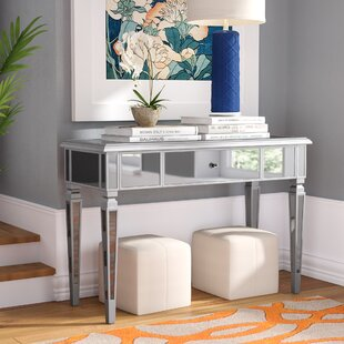 Loganne Mirrored Console Table