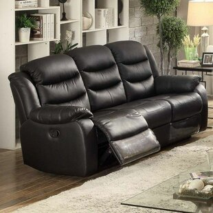 Morena Transitional Glider Reclining Sofa