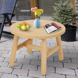 Liberty Hill Wooden Round Accent Stool by Millwood Pines