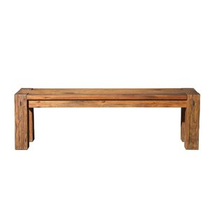 Union Rustic Thiede Wood Bench