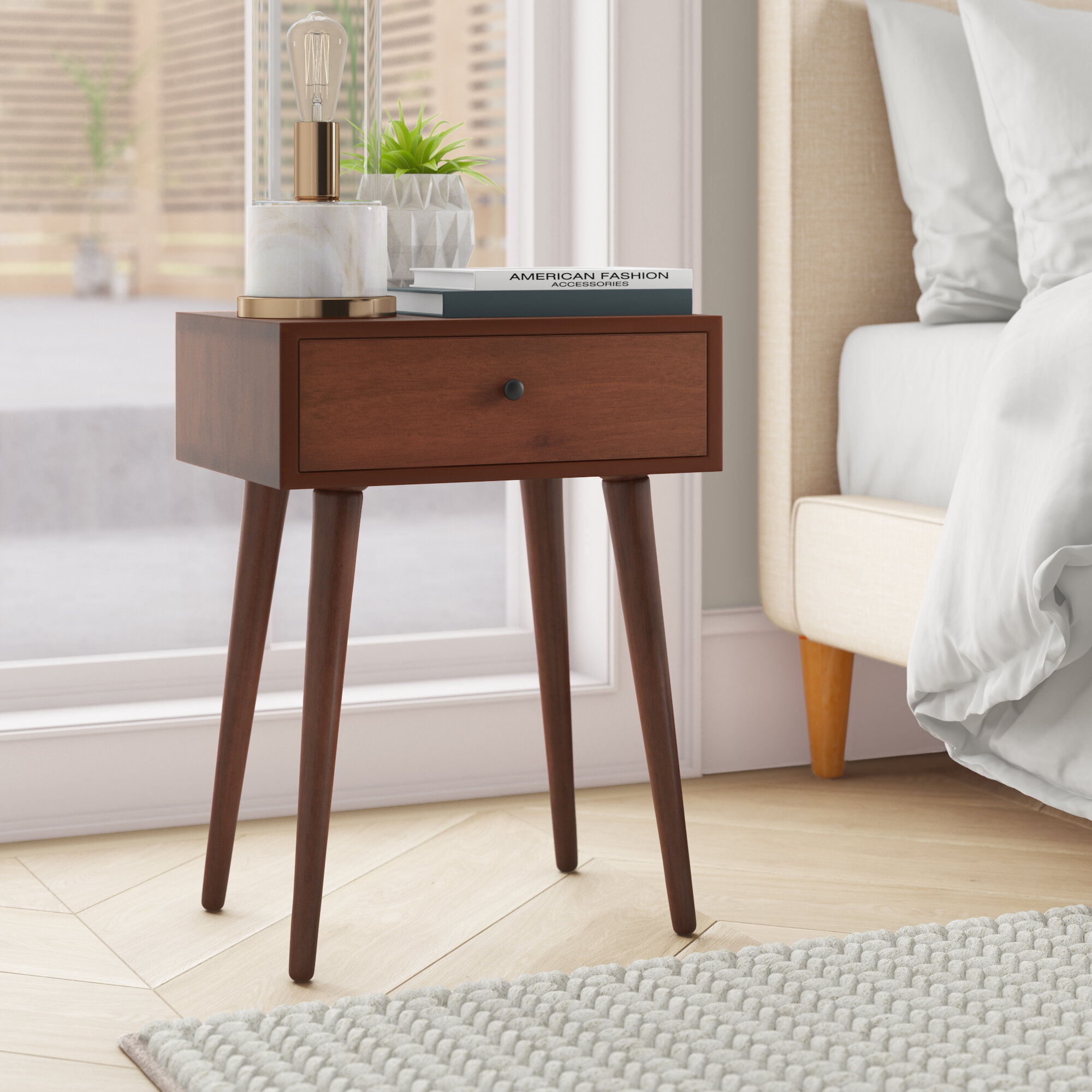 Pelham End Table with Storage