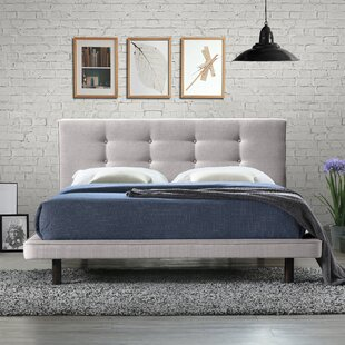 Arrington Queen Upholstered Platform Bed by Trule Teen