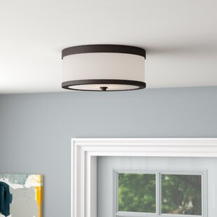 Mercury Row Triangulum 2-Light Flush Mount