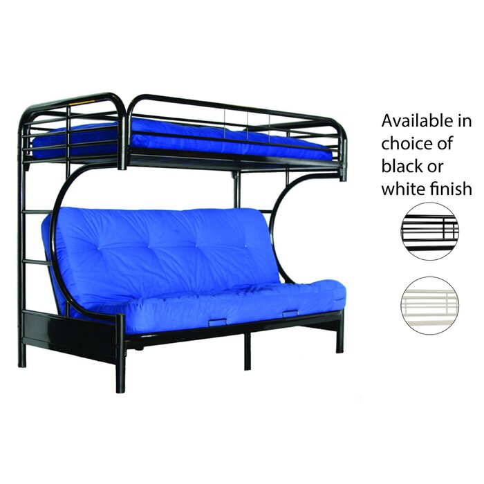 Irwin Twin Over Futon Bunk Bed