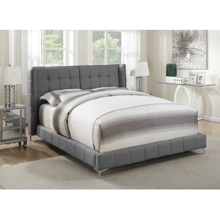 Treveon Upholstered Panel Bed