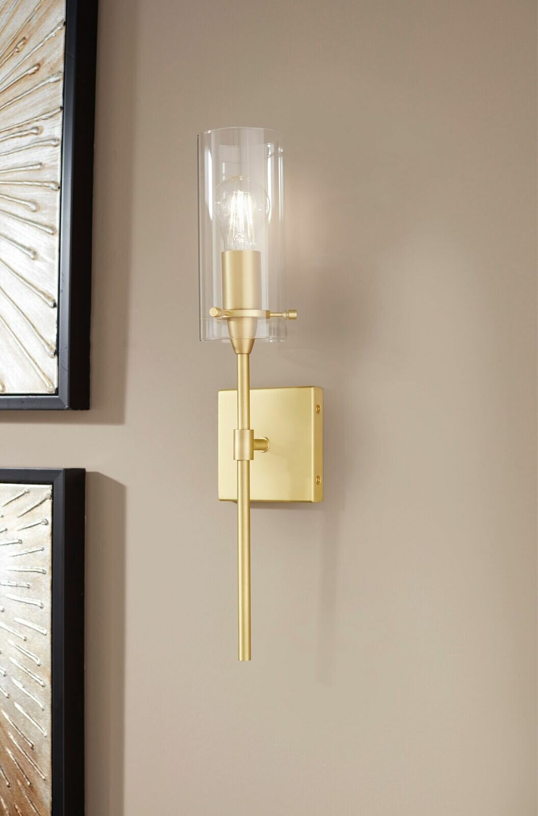 Gold Shade Wallchiere Wall Sconces You Ll Love In 2021 Wayfair