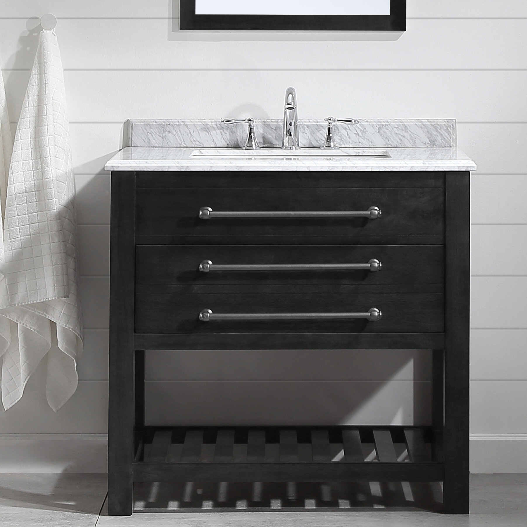 Ebern Designs Amilie 36 Single Bathroom Vanity Set Wayfair