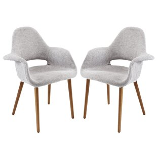 Carlotta Dining Armchair (Set of 2) by Corrigan Studio