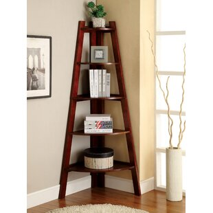 Pierview Corner Bookcase by Beachcrest Home
