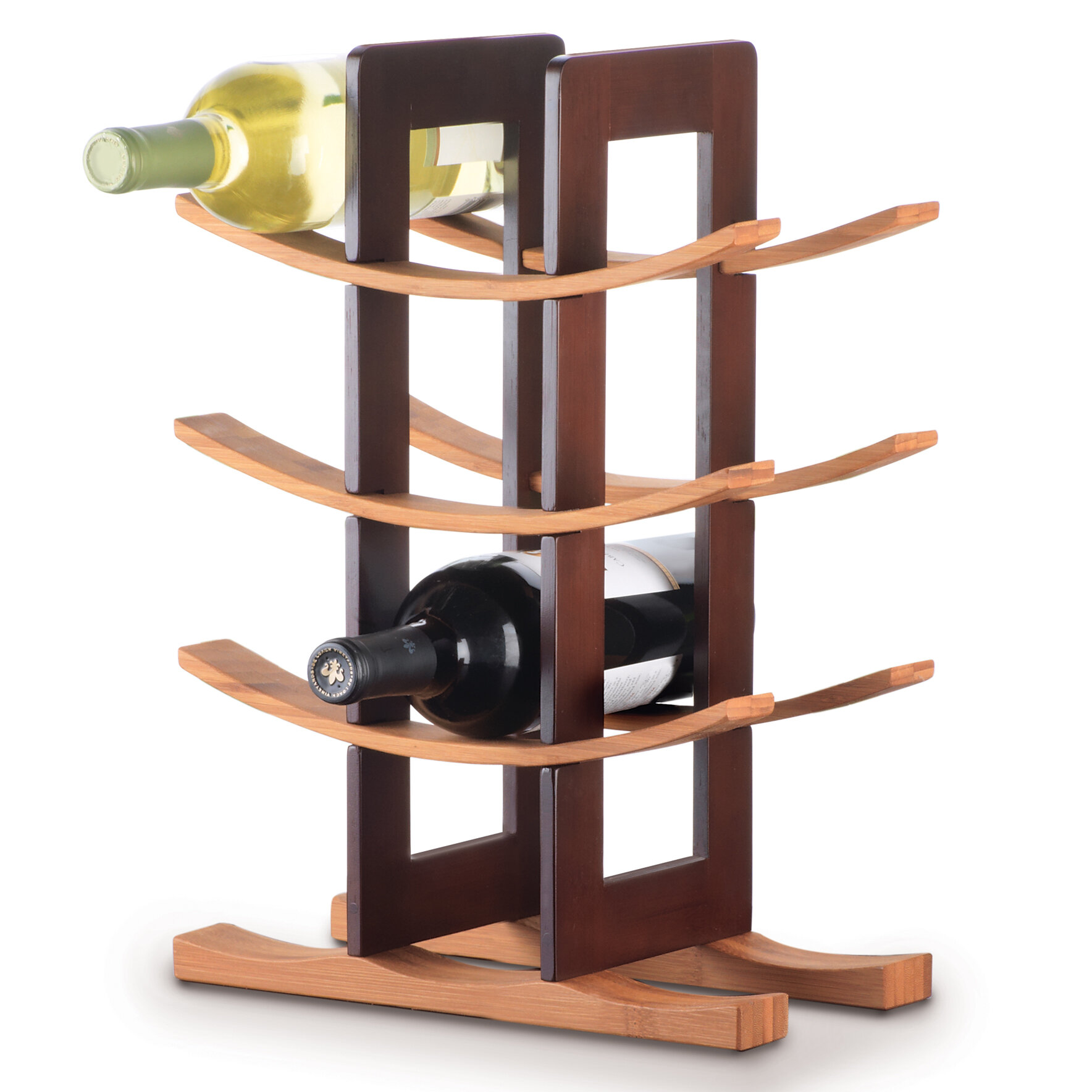 Elegant Wire Wine Rack Cabinet Insert