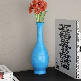 Clipper Decorative Wood Smooth Vase