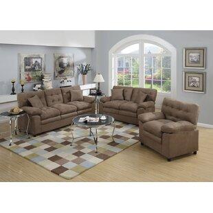 Kingston 3 Piece Living Room Set By Red Barrel Studio